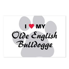 Olde English Bulldogge Postcards (Package of 8)