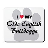 Olde english bulldogge Classic Mousepad
