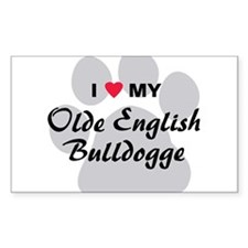 Olde English Bulldogge Decal