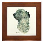 Irish Wolfhound Framed Tile