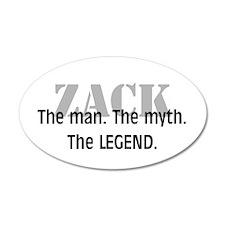 Zack 38.5 x 24.5 Oval Wall Peel
