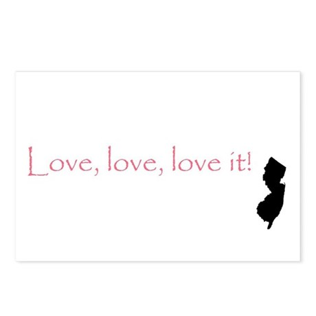 Love it! Postcards (Package of 8)