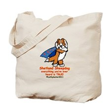 Sable Super Sheltie Tote Bag