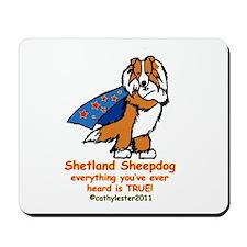 Sable Super Sheltie Mousepad