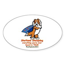 Sable Super Sheltie Decal