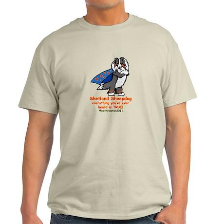 Tri Super Sheltie Light T-Shirt