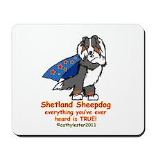 Tri Super Sheltie Mousepad