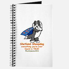 Black Super Sheltie Journal