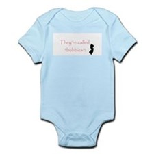 "Love the ""Bubbies"" Infant Bodysuit"
