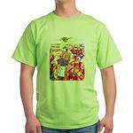 Puss 'n Boots Green T-Shirt