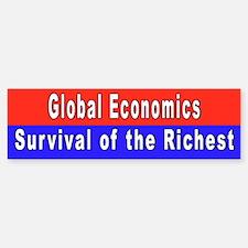global economics... Bumper Bumper Bumper Sticker