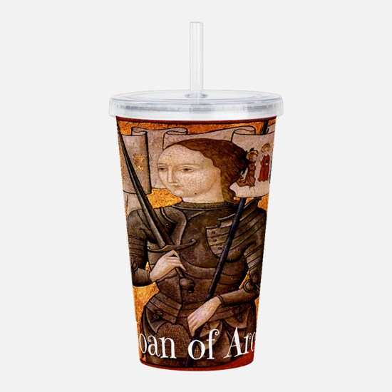 Joan of Arc Acrylic Double-wall Tumbler
