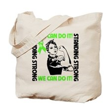 Standing Strong Lymphoma Tote Bag