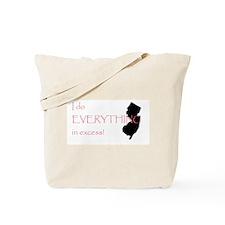 Jersey Diva Tote Bag