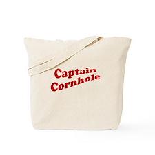 Captain Cornhole Tote Bag