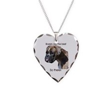 Boxers are the Best, So there Necklace Heart Charm