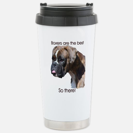 Boxers are the Best, So there Stainless Steel Trav