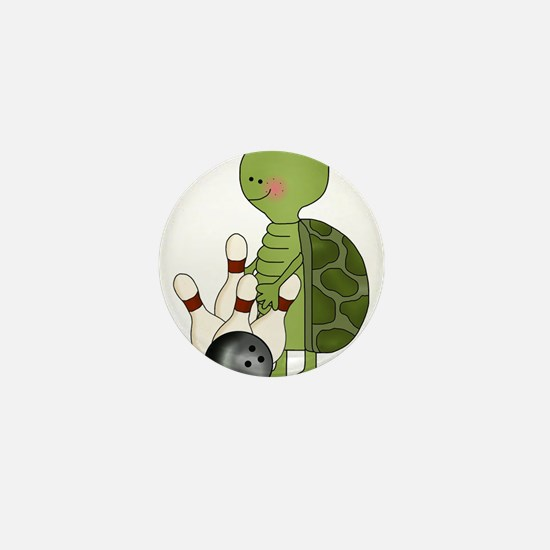 bowling turtle Mini Button