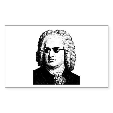 J.S. Bach Sticker