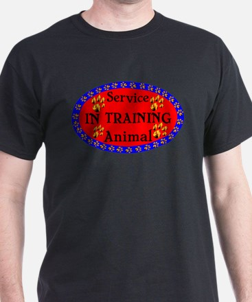 Service Animal In Training RB T-Shirt