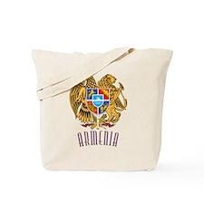 Armenian Coat of Arms Tote Bag