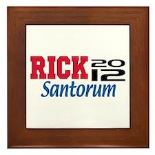 Rick Santorum 2012 Framed Tile