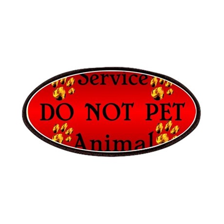 Service Animal DO NOT PET Patches