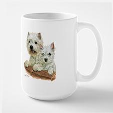 West Highland White Terrier Large Mug