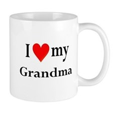 I Love My Grandma: Mug