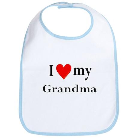 I Love My Grandma: Bib