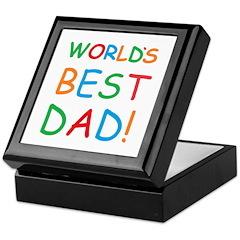 World's Best Dad! Keepsake Box