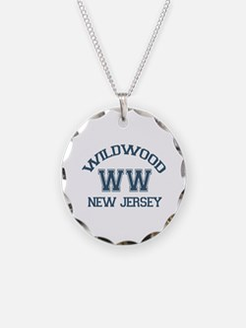 Wildwood NJ - Varsity Design Necklace