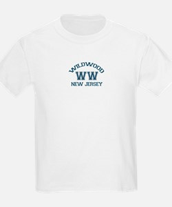 Wildwood NJ - Varsity Design T-Shirt