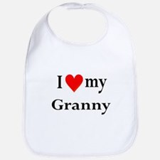 I Love My Granny: Bib