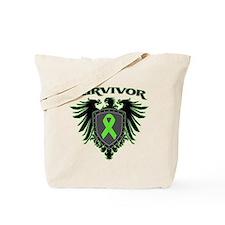 Survivor Wings Lymphoma Tote Bag