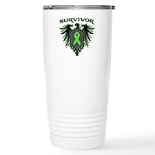 Survivor Wings Lymphoma Travel Mug