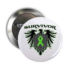 "Survivor Wings Lymphoma 2.25"" Button (10 pack)"
