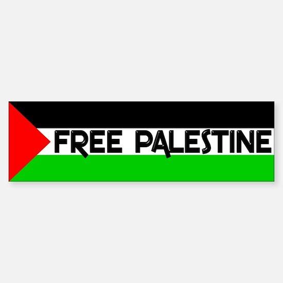 Free Palestine Bumper Bumper Bumper Sticker
