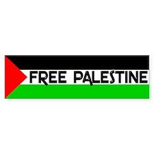 Free Palestine Bumper Bumper Sticker
