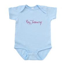 """Miss January"" Infant Bodysuit"