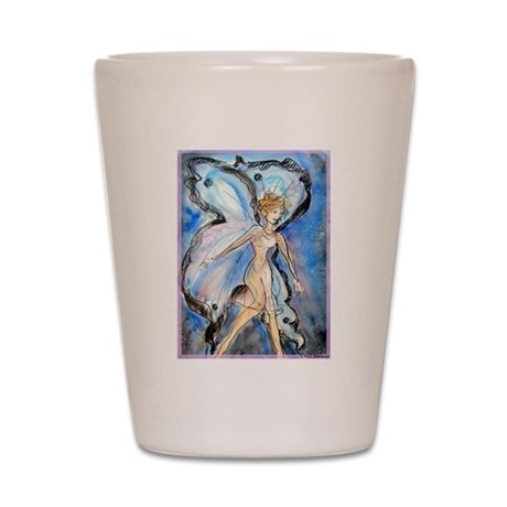 Fairy, colorful, Shot Glass
