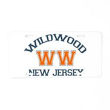 Wildwood NJ - Varsity Design Aluminum License Plat