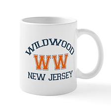 Wildwood NJ - Varsity Design Mug