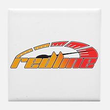 Redline Tach Tile Coaster