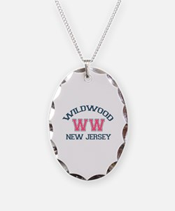 Wildwood NJ - Varsity Design Necklace
