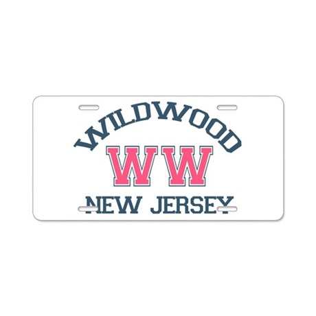 Wildwood NJ - Varsity Design Aluminum License Plat