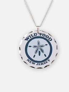 Wildwood NJ - Sand Dollar Design Necklace