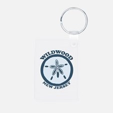 Wildwood NJ - Sand Dollar Design Keychains