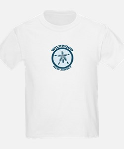 Wildwood NJ - Sand Dollar Design T-Shirt