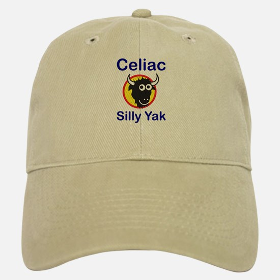 Silly Yak/Celiac Baseball Baseball Cap